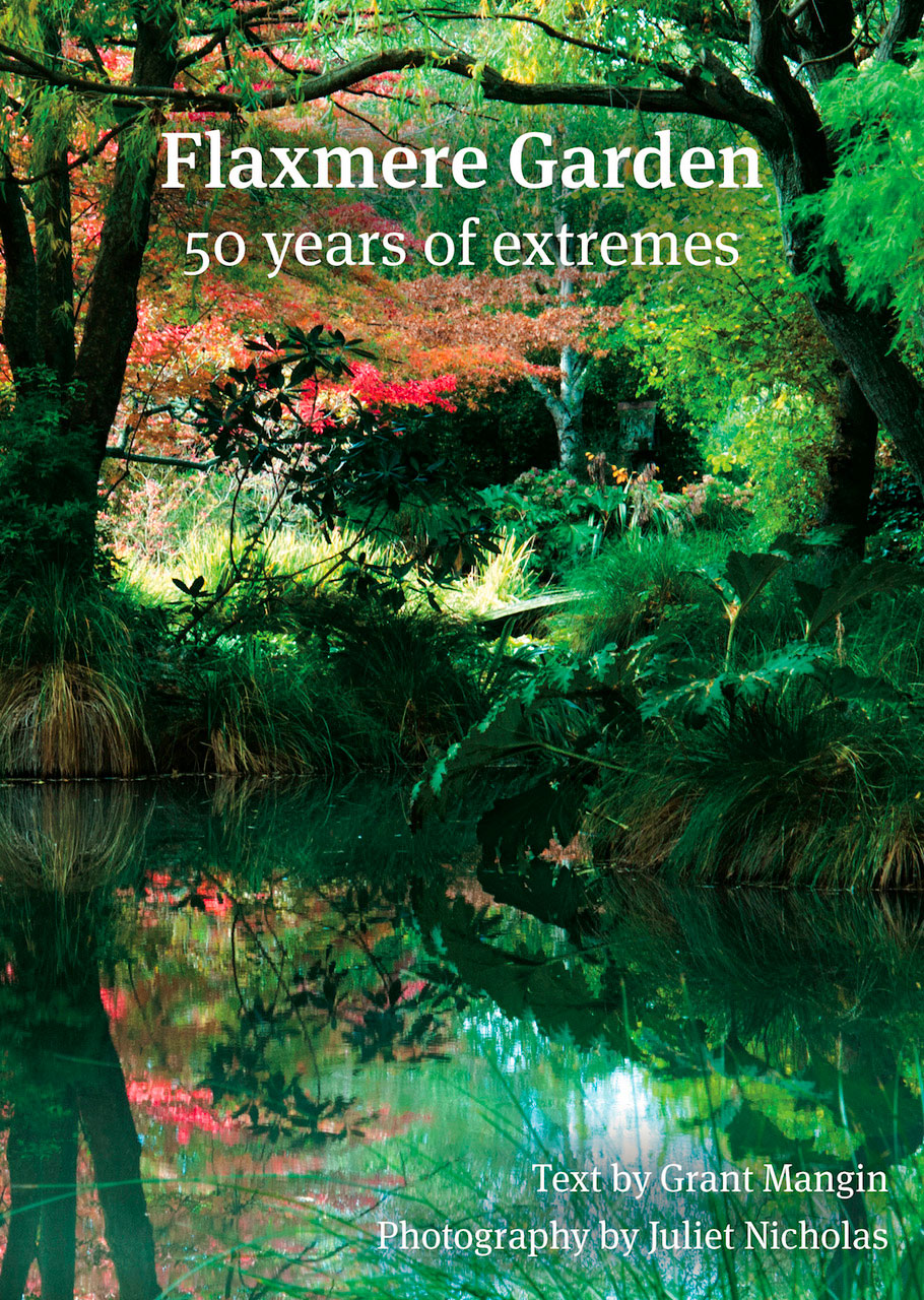 Flaxmere garden – 50 years of extremes Cover